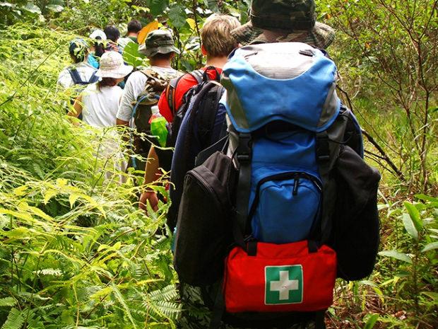 túi sơ cứu trekking